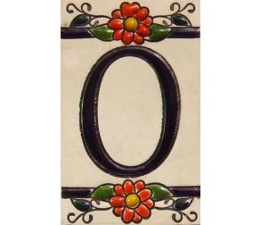 Ceramic tile number 0