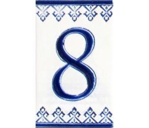 Ceramic number - 8