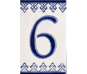 Ceramic number - 6