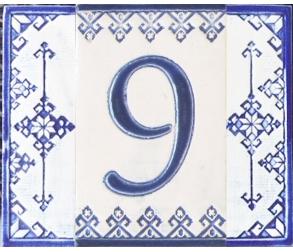 Ceramic number - 9