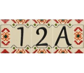 Ceramic Number Ethno A