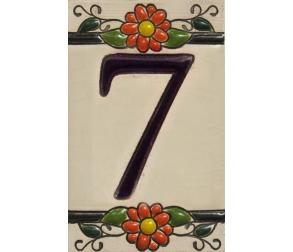 Ceramic tile number 7