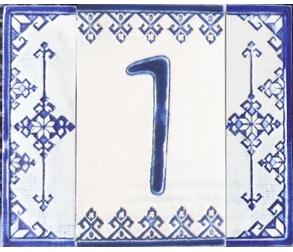 Ceramic number - 1