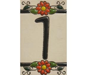 Ceramic tile number 1