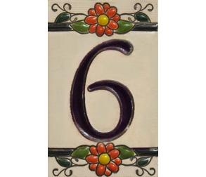Ceramic tile number 6